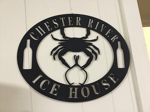 Chester River Ice House w/Crab
