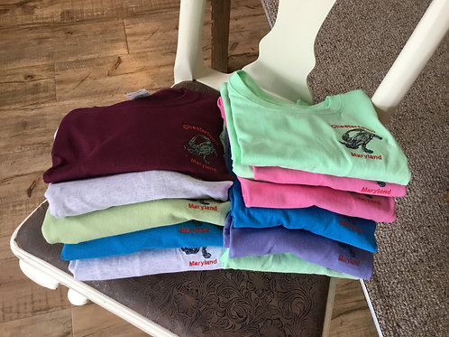 Chestertown Embroidered Tees