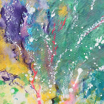 Acrylic Painting on Silk