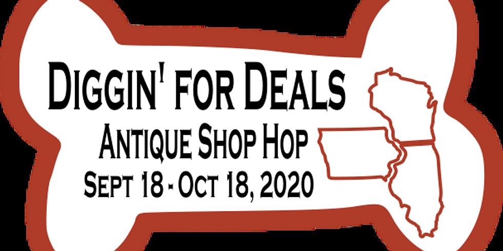 Diggin' for Deals Antique Shop Hop