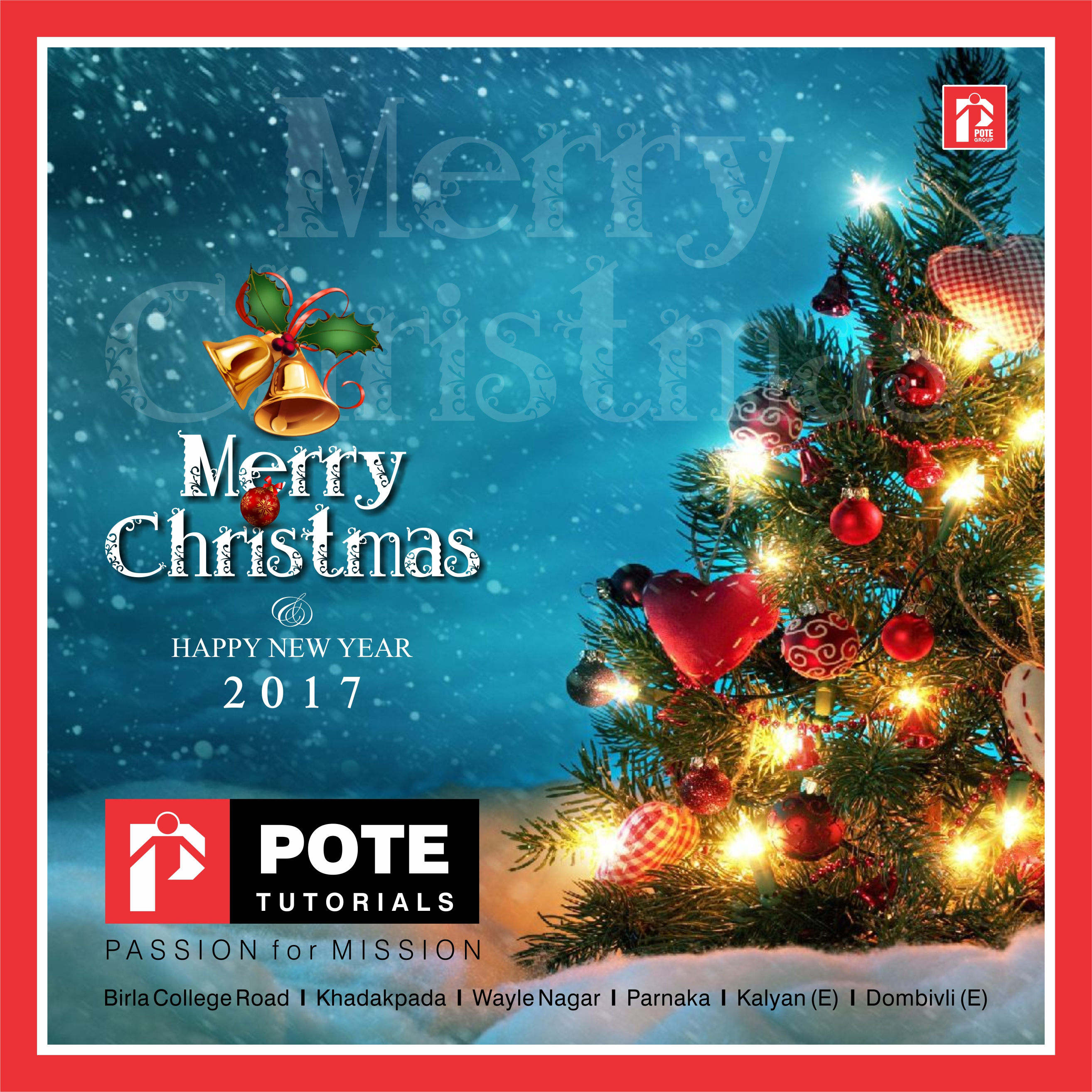 CHRISTMAS POTE 5