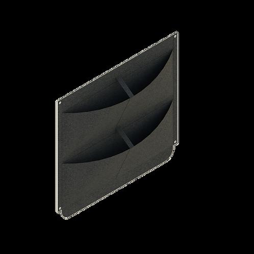 Bolsillo de siembra vertical X 4 plantas