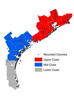 Texas Waterbird Colonies