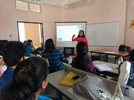Akikaran Fellowship pitch in Guwahati University