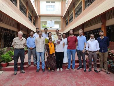 Akikaran Team with our partner