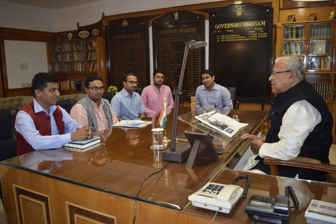 Meeting with Honourable Governor of Assam