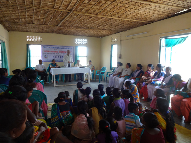 Interaction with mother's under Alleviate Malnutrition Program