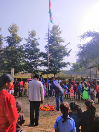 Independence day celebration in school
