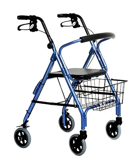 ROLLATORS (4-WHEELED WALKERS)