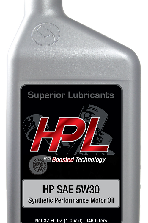 HPL 5W30 SYNTHETIC ENGINE OIL-CASE OF 12 QUARTS