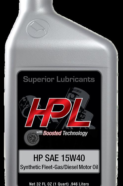 HPL 15W40 SYNTHETIC FLEET OIL-4 GALLON CASE
