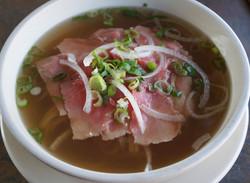 Pho Tai (Beef Noodle Soup)