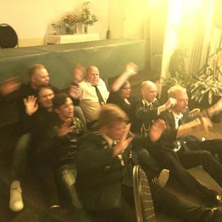 Super Stimmung im Vereinsheim