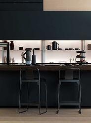 Bar in der Küche