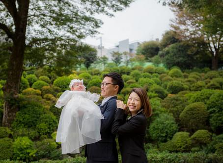 根津神社でのお宮参り撮影