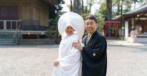 井草八幡宮 ご自宅出発の小さな結婚式