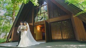 軽井沢高原教会での結婚式