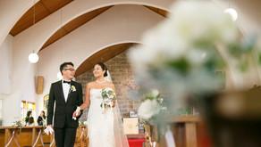 由比ガ浜教会 & ラ・マーレ・ド・チャヤでの結婚式