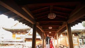 湯島天満宮、今半別館での結婚式