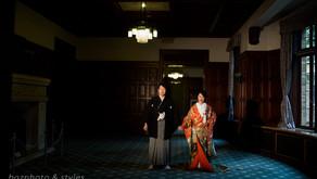 旧前田侯爵邸洋館でのロケーションフォト