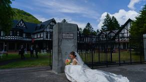 軽井沢ロギングハウスでの結婚式 - その2