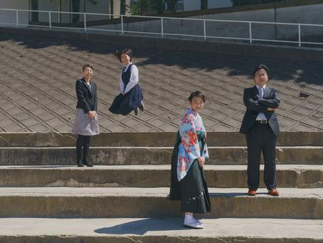 ご自宅で卒業写真を 船橋での家族写真撮影