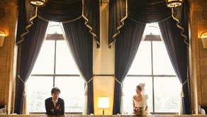 横浜、山手教会とホテルニューグランド