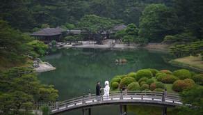 うどん県だけじゃない香川 栗林公園での結婚式