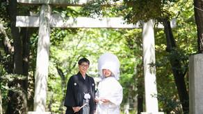 赤坂氷川神社、レストランFEUでの結婚式