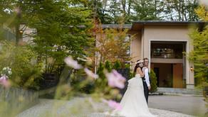 一日貸し切りの邸宅 軽井沢倶楽部 有明邸 での結婚式