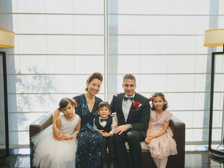 グランドハイアット東京での結婚10周年パーティー