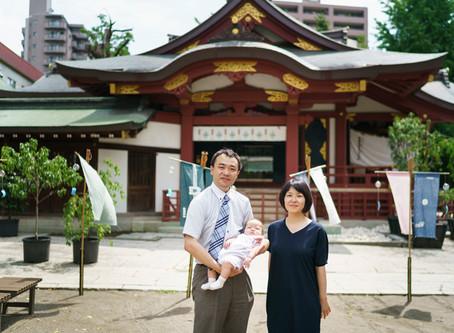 素戔嗚(すさのお)神社でのお宮参り撮影