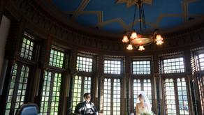 小笠原伯爵邸での結婚式