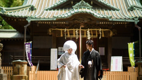 代々木八幡宮での結婚式