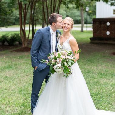 A Lovely Backyard Wedding