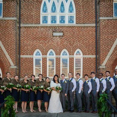 Josh and Cathy's Winter Charlottesville Wedding