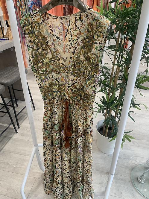 NATURE MAXI BOHO DRESS