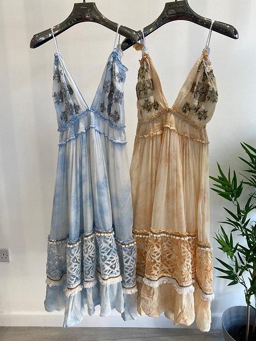 BEACH BOHO VEST DRESS