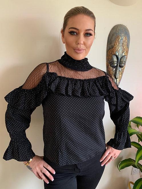 LIZA BLACK SHIRT