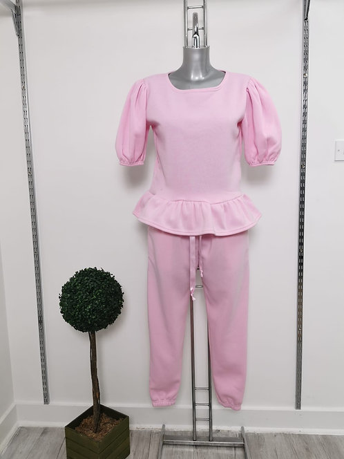 PINK PUFF TRACKSUIT