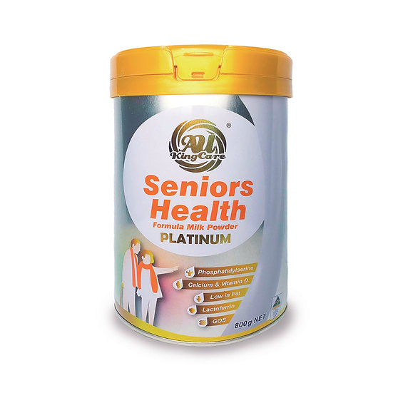Au-Kingcare Senior Health Formula Milk powder 800g/Tin