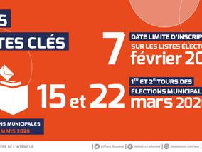Mobilisons-nous et allons voter aux Elections Municipales et Communautaires !