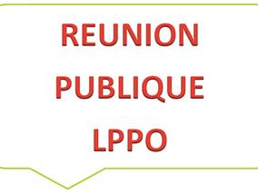 REUNION PUBLIQUE - LPPO