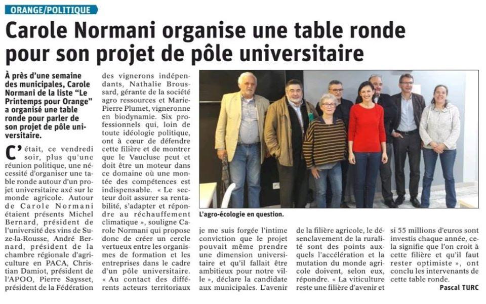 Carole_Normani_Université_Agro-écologie.