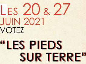 """Votez """"Les Pieds sur Terre"""" - Départementales Canton d'Orange, Piolenc et Caderousse"""