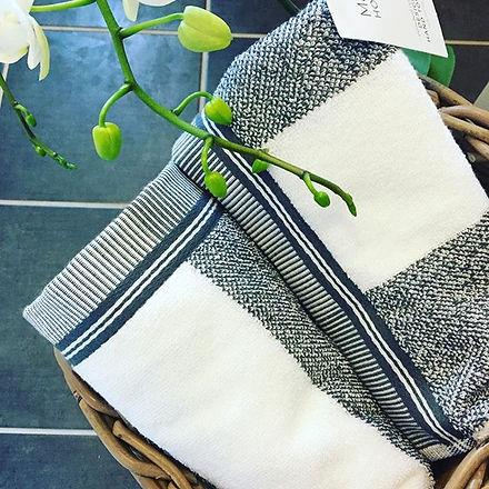 New towels 🌿#courseprep not long now! #reflexology #turkishcotton _marksandspencer