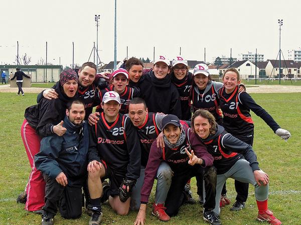 Diabolos - (Softball Les Ulis/Softball Essonne ) à un tournois