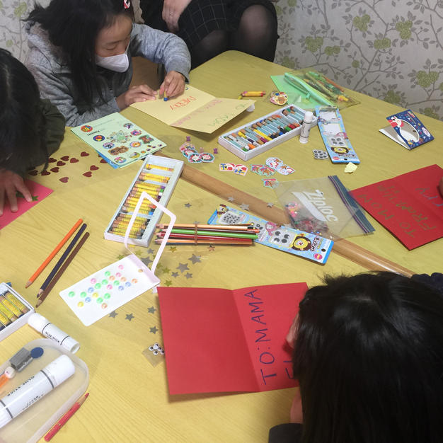 Cards making!