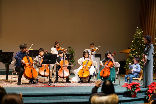 Christmas Concert Cello Group