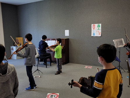Violin Outreach Program In-Person Rehearsals